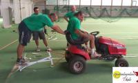Teppichbelag grün 05